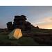 Wheel Stones, Derwent Edge, Peak District by H4RSX