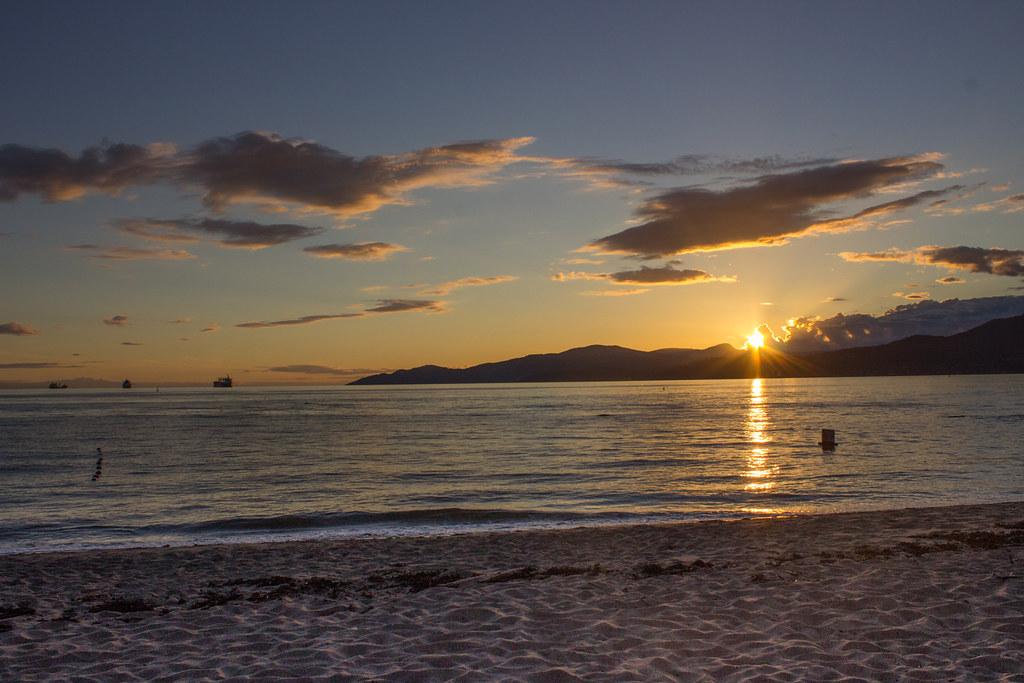 Sunset from Third Beach, Vancouver