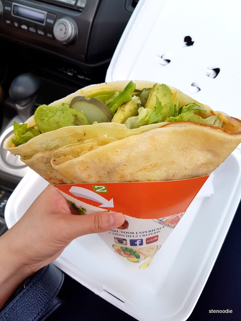 Muncheez Creperie savory crepe