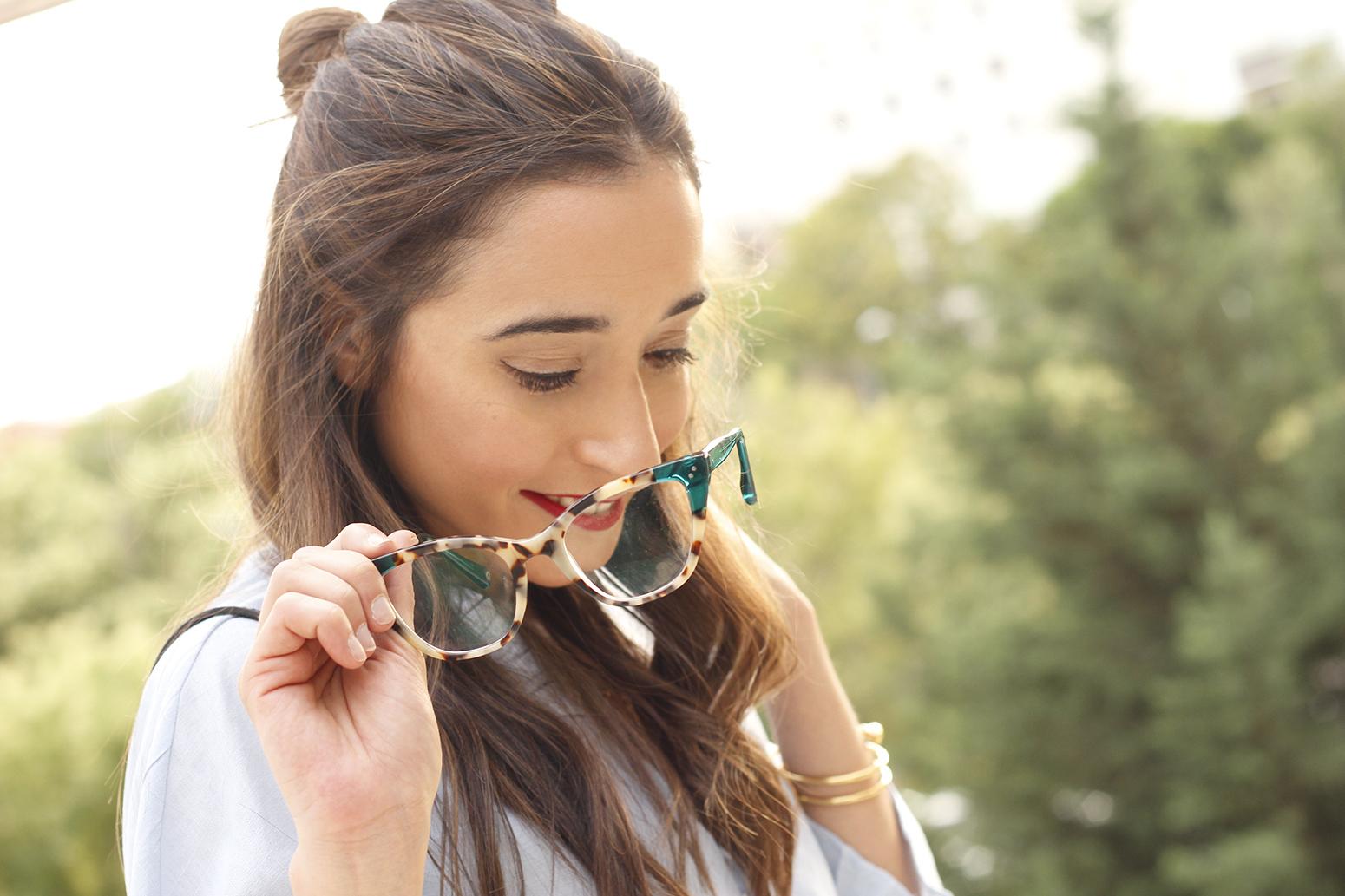 gafas graduadas mujer óptica Rínivi Madrid diseño vanguardia02