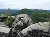 Jetřichovické stěny, výhled z Vilemíniny vyhlídky, foto: Petr Nejedlý