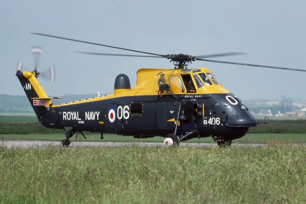 Westland Wessex HAS3 XS862/AN-406 Yeovilton 22-6-77