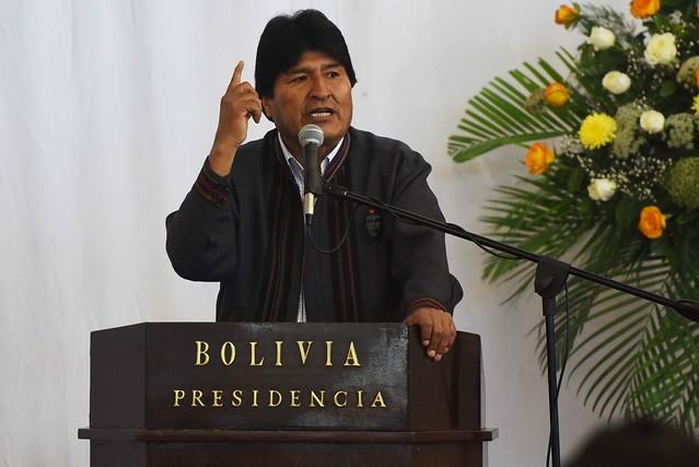 Evo Morales: Venezuela é estratégica no desejo dos EUA de recolonizar América Latina