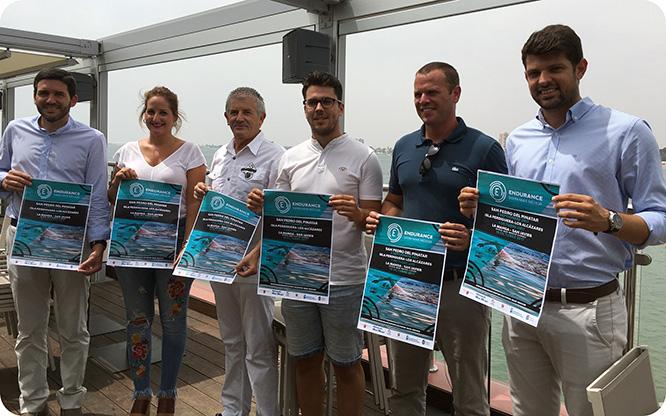 El Mar Menor acogerá un circuito de travesías a nado