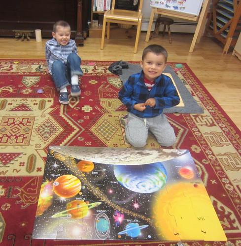 the solar system puzzle team