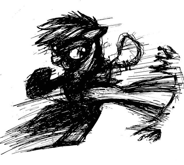 fight_scribble_by_yewdee