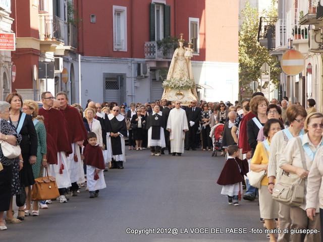 processione Festa Madonna del Rosario
