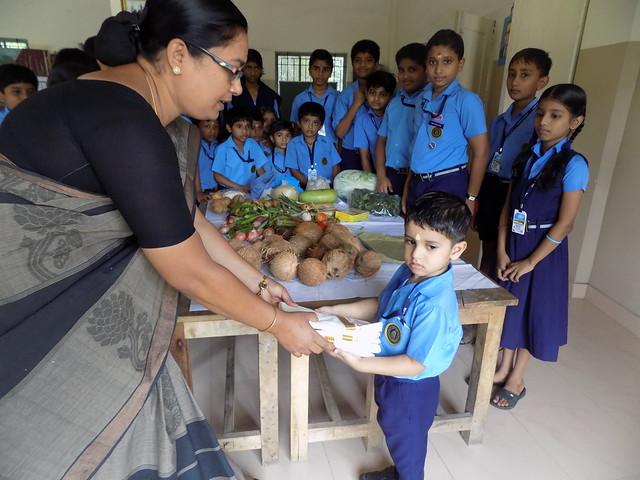 SOCIAL SERVICE BY THE STUDENTS OF BHAVAN'S VIDYALAYA