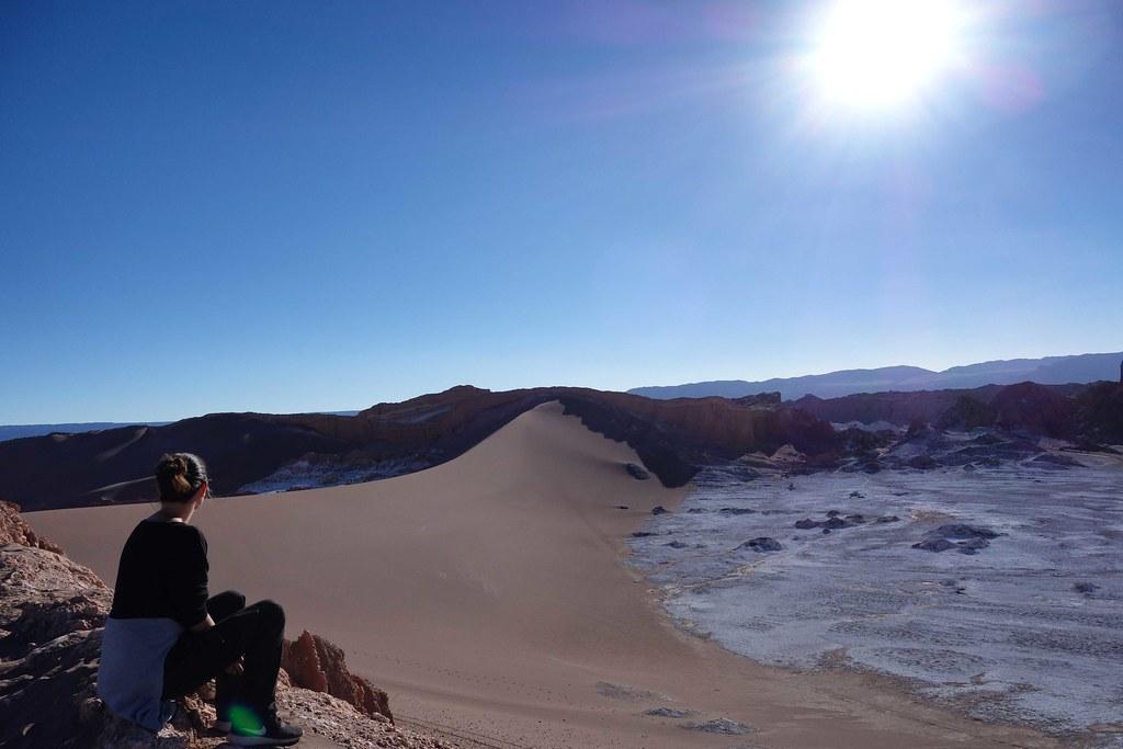 San Pedro Atacama - Valle de la Luna - Duna Mayor - Anais