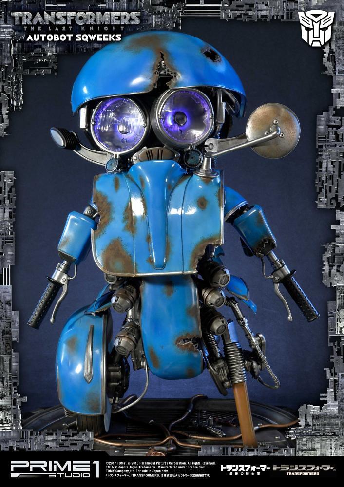 宛如吉祥物般的超萌小可愛!!Prime 1 Studio 變形金剛5:最終騎士【小靈通】トランスフォーマー/最後の騎士王 スクィークス 全身雕像作品