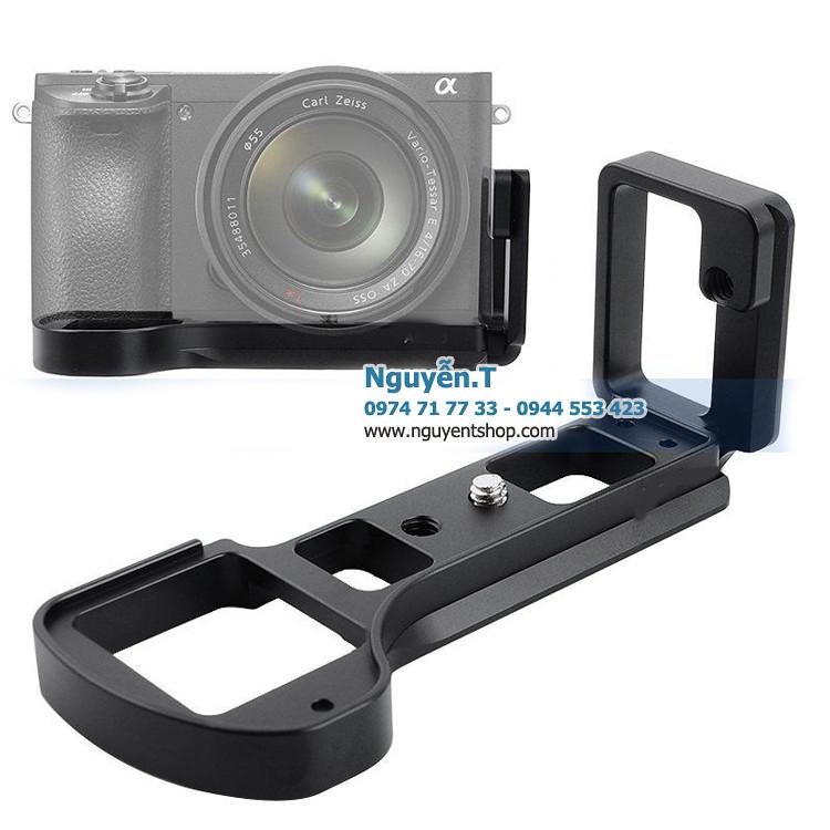 Khung nhôm CNC Bracket L thao tác nhanh Sony A6500