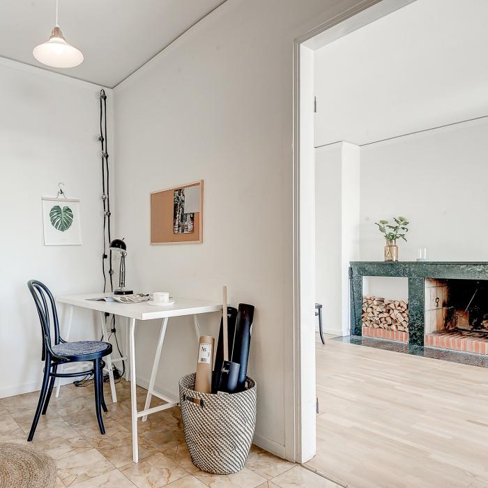 Simple Light Filled Scandinavian Apartment