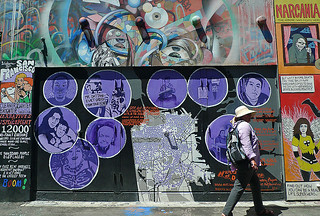 Mural in the City - Clarion Alley Narratives of Displacements