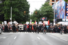 August 13 march against fascism ...