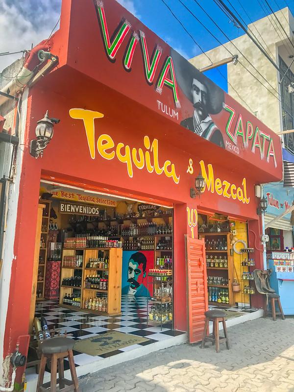 Liquor store, Tulum