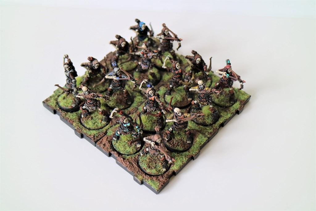 Runewars Miniatures Skeleton Archers