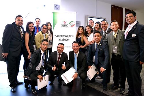 Tercer Ejercicio del Parlamento Juvenil de México. 14/Ago/17