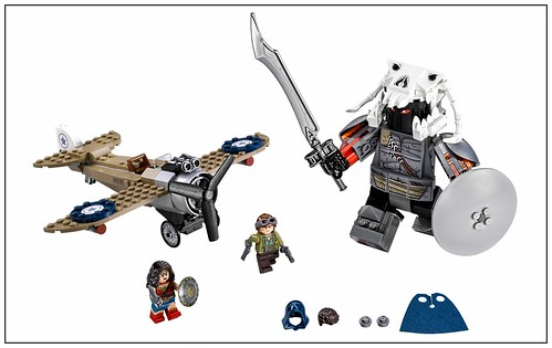 LEGO DC Super Heroes 76075 Wonder Woman Warrior Battle 00