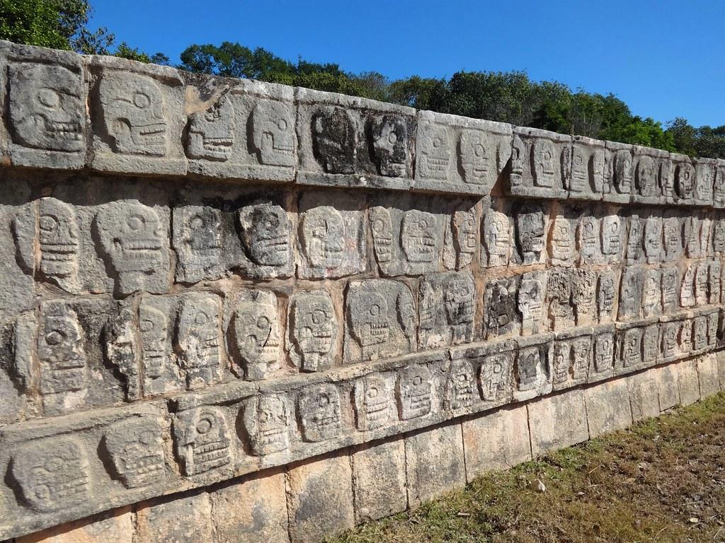 Świątynia Czaszek w Chichen Itza