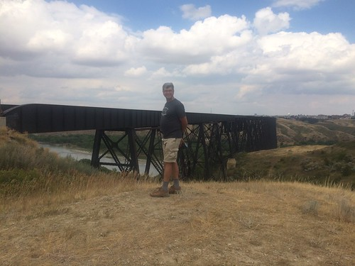 lethbridge Bridge with Pierre