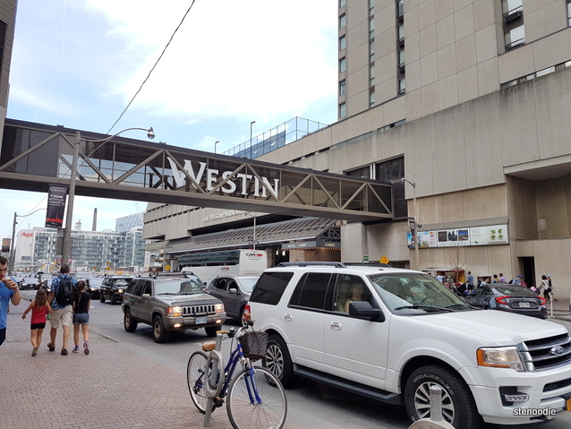 Westin Harbour Castle Hotel in Toronto