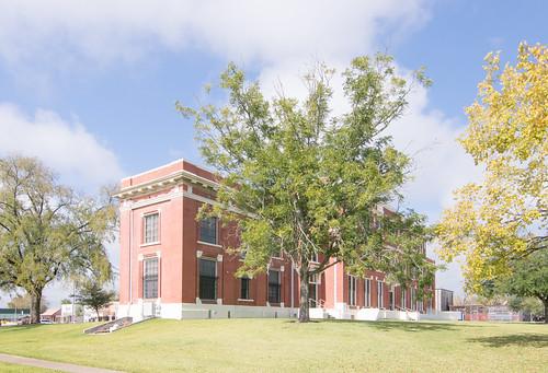 Trinity County Courthouse, Groveton, Texas 1709161024