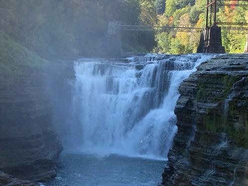 Upper Genesee Falls, New York