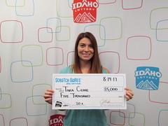 Tara Cline - $5,000 - 20X - Nampa - Maverik