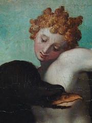 ALLORI Alessandro,1572 - Dossier de Lit avec Sc�nes Mythologiques et Grotesques, Le Rapt de Ganym�de, d'Apr�s MICHEL-ANGE (Florence) - Detail 54