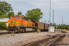 BNSF 5648 | GE AC44CW | BNSF Thayer South Subdivision