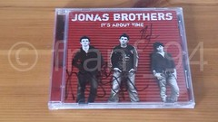 SIGNED It's About Time Jonas Brothers
