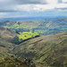Looking down on Edale in the sun by peterichman