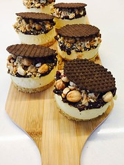 Cheesecake de Nutella e muitassss Avelãs ❤️