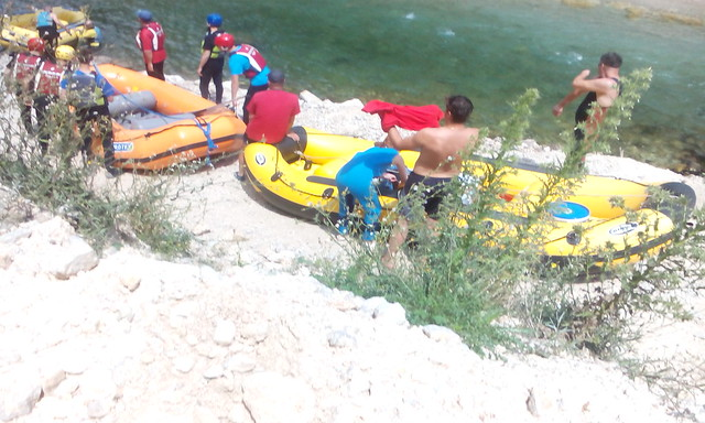 Neretva at the most beautiful river