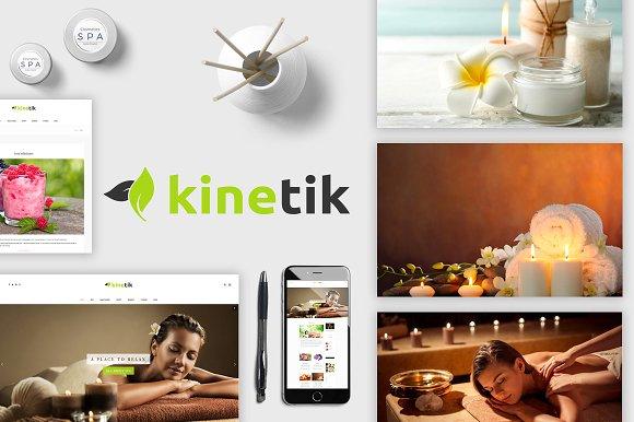 Kinetik v1.0.0 – Spa/Beauty Blogging Theme