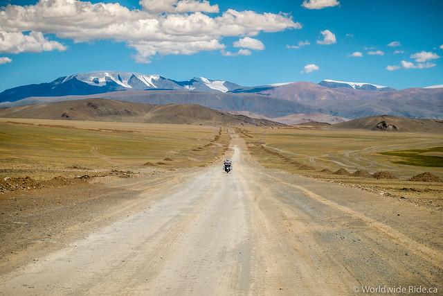 Mongolia Uglii to Khvod-9