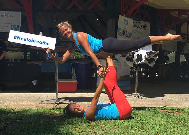 2017 Baltimore Free to Breathe Yoga Challenge