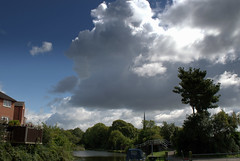 Clouds over Ashton on Ribble, Preston