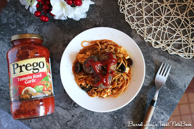 番茄羅勒橄欖豆腐義大利麵 (9)