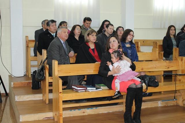 Encuentro de matrimonios en IMPCH Chiguayante