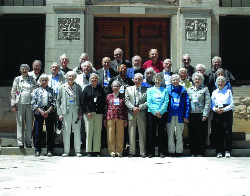 Classes of 1952, 1953, 1954 Cluster Reunion Photos