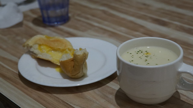 餐包與濃湯@高雄童樂島親子餐廳