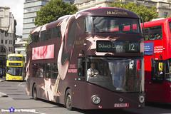 Wrightbus NRM NBFL - LTZ 1420 - LT420 - Magnum Double Raspberry - Dulwich LIbrary 12 - Go Ahead London - London 2017 - Steven Gray - IMG_8634