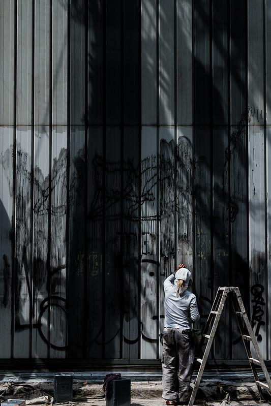 Graffiti to be erased