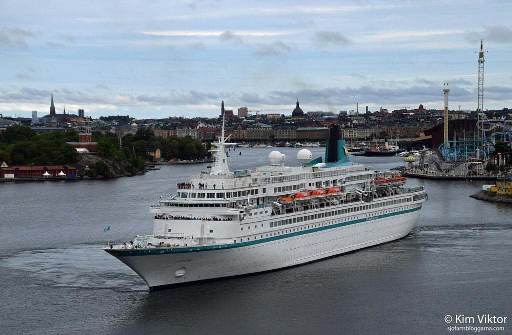 Kryssningsfartyg gjorde strandhugg i Vasa.