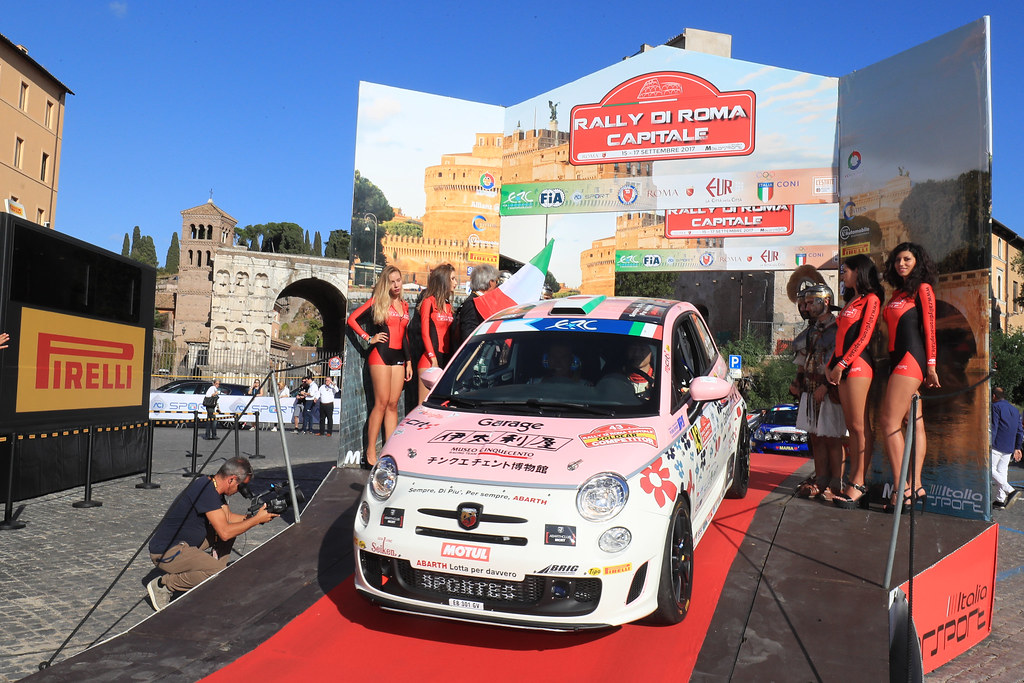 43 start during the 2017 European Rally Championship ERC Rally di Roma Capitale,  from september 15 to 17 , at Fiuggi, Italia - Photo Jorge Cunha / DPPI