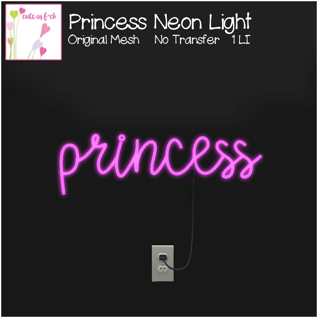 ::cute as f*ck:: Princess Light – SALE