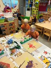 Vosjesklas: eerste schooldagen!