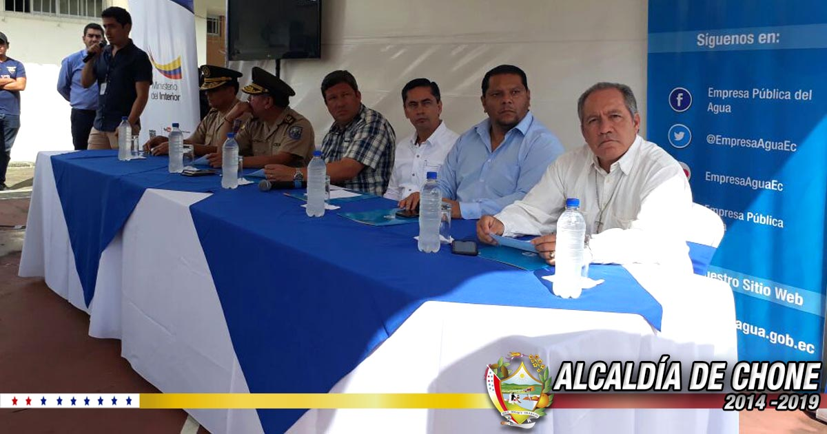 Empresa Pública del Agua y Ministerio del Interior firman convenio interinstitucional
