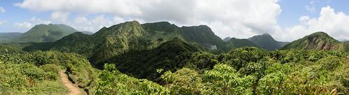 Fantastic hike to the boiling lake, Nature Island Dominica